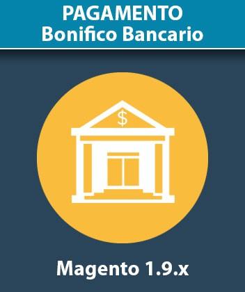 Modulo Magento Pagamento Bonifico Bancario