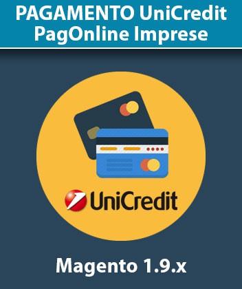 Modulo Magento Pagamento UniCredit PagOnline Imprese