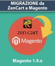 Servizio Migrazione da ZenCart a Magento