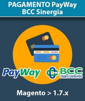 Modulo Magento Pagamento PayWay Banca Credito Cooperativo BCC Sinergia