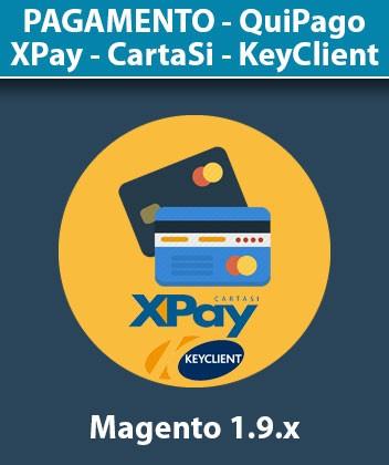 Modulo Magento Pagamento KeyClient CartaSì XPay QuiPago