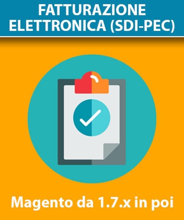 Modulo Magento Codice SDI, Pec, Codice Fiscale e Partita IVA per Fatturazione Elettronica