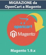 Servizio Migrazione da OpenCart a Magento