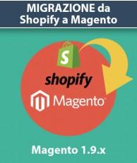 Servizio Migrazione da Shopify a Magento